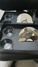 Nespresso View Collection - 4 x Cappucino Cups & Saucers NEW
