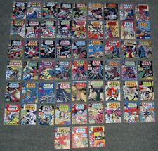 Vintage Set 2,Star Wars Comics 61-117 X MINI DISPLAY CARDS.WEEKLY,RETRO COVERS.C