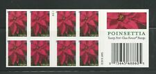 2013 #4816 Poinsettia Plant Complete Booklet of 20 Forever Holiday Christmas