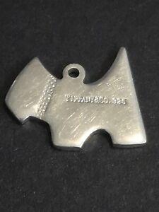 TIFFANY&Co. 925 Solid Silver Dog Pendant