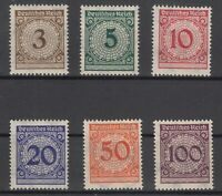 X2126/ GERMANY REICH – MI # 338 / 343 COMPLETE MINT MNH – CV 125 $