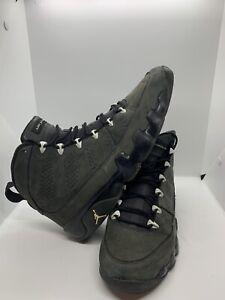 Nike Air Jordan 9 IX Retro Anthracite Black White Gray 302370-013 Sz 10.5*READ*