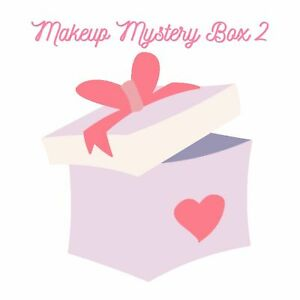 $100+ Value Mixed Make-Up Box Bulk Lot Eyeliner Mascara Loose Setting Powder NEW