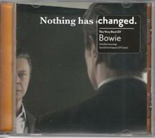 NEW CD DAVID BOWIE NOTHING HAS CHANGED MUSIC SOUND MP3 STEREO CAR HOME DVD