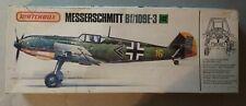 """Matchbox Messerschmitt Bf-109E-3 """"Emil"""" 1/32 metal parts, masks and other extras"""