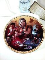 Star Trek II The Wrath Of Kahn Hamilton Collection Plate 1994