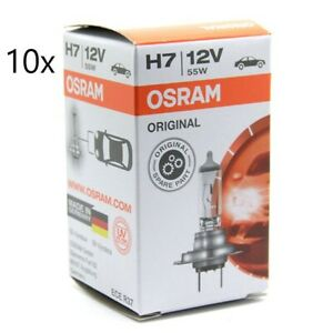 OSRAM H7 12v 55W Headlight Globe Bulb German Quality (10-pack)