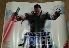 Star Wars The Force Unleashed Reusable Wall Poster Art 2008 Gamer Graffix