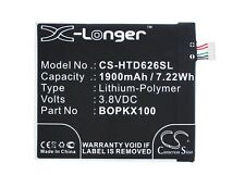 Replacement Battery For HTC 3.8v 1900mAh / 7.22Wh Mobile, SmartPhone Battery