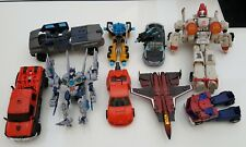 Transformers movie ROTF_DOTM_Generations lot 9 figures thrust ironhide soundwave