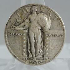 1930-S Standing Liberty Silver Quarter Dollar 25 Cents 25C XF Coin C2403