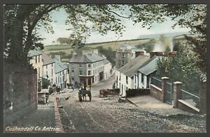 Postcard Cushendall in County Antrim Northern Ireland early village view