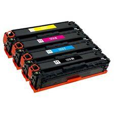 4 Pack Toner Cartridge for HP 131A 131X CF210X CF210A CF211A CF212A CF213A M276n