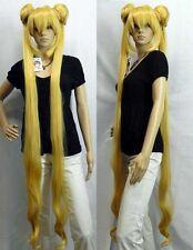Mixed golden Sailor Moon Tsukino Usagi Cosplay Party Heat Resistant Women Wig