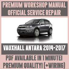 Vauxhall car technical manuals and literature ebay workshop manual service repair guide for vauxhall antara 2014 2017 wiring fandeluxe Choice Image