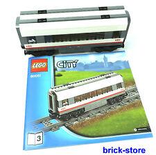 LEGO® City/ Eisenbahn (60051) Waggon / Mittelwaggon  /  Fahrradwaggon