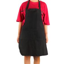 Waterproof Cooking Bib Apron with Pocket Sleeveless Kitchen Restaurant Accessory
