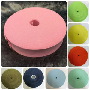 Cotton Bias Binding Rolls 1 Inch / 25mm One Inch Wide Different Colours