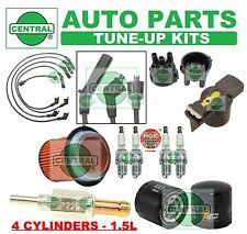 TUNE UP KITS for 90-95 EXCEL SCOUPE: SPARK PLUGS, WIRE SET, CAP, ROTOR & FILTERS