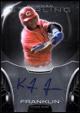 ET 2013 Bowman Sterling Prospect Autographs #KF Kevin Franklin