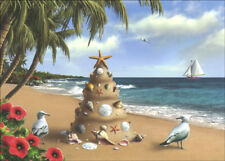 Holiday in Paradise - Box of 18 Warm Weather Tropical Christmas Cards