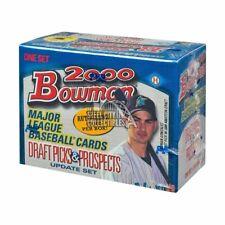 2000 Bowman Draft Picks & Prospects Update Baseball Factory Set