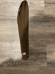 Martial Arts Karate Taekwondo BROWN Belt Sun Co. Size 0