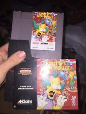 Krusty's Fun House (Nintendo Entertainment System NES) W/ Manual & Sleeve