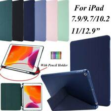 For iPad 9.7 10.2 11 12.9 7.9 Protective Case Flip Folding Smart Sleep Cover