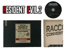 Biohazard RE:2 Resident Evil 2 Collector's Edition Art Book + OST + Map Set