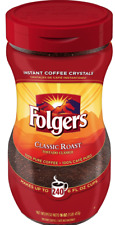 Folgers Classic Roast Instant Coffee Crystals - (16 oz.)