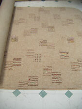 60 x 38 inch LUXURY DOMESTIC HEAVY CONTRACT BEIGE RUG  BN quality #1427 *WOOL*