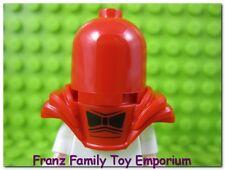 New LEGO Minifig Red ARMOR and HEAD HOOD Batman Movie Series Red Hood Body Wear