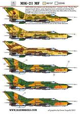 Hungarian Aero Decals 1/48 MIKOYAN MiG-21MF Jet Fighter
