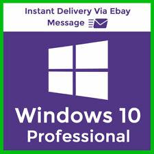 Licencia Windows 10 Pro 32& 64 Bit Win 10 Pro Product Key Enviado en 10 segundos