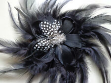 Free shipping 1-10PCS Beautiful fashion Feather Hair Flower ,Select color
