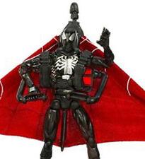 SECRET WARS BLACK SPIDER-MAN w/MISSLE ATTACK GLIDER • C8-9 • SPIDER MAN ORIGINS