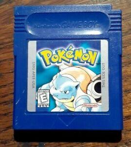 Pokemon Blue Version (Game Boy, 1998) VG Shape &  Authentic