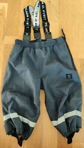 Polar O. Pyret 9-12-18 months baby toddler waterproof shell trousers ski snow