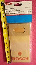 Bosch 2610906333 Paper Dust Bags, 3 Bags Per Package