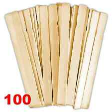 Paint Paddles 12 In. | Bulk Pack of 100 Hardwood Stirrers | Epoxy, Resin, Wax