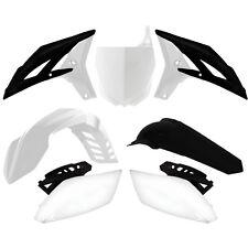 Yamaha YZF250 2011 2012 2013 White Black Plastic Kit Plastics YZF-BN1-510