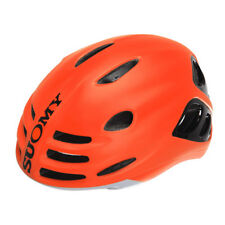 Road Helmet sfera Matt Orange Fluo / Glossy Black Size L Suomy Bike