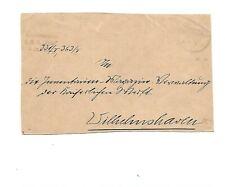 MSP No 20 11.5. (01) K1 auf Pracht-Brief-Vorders. mit Absender SMS Iltis