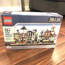 New Lego 10230 MINI MODULAR CITY Cafe Corner Green Grocer Emporium Fire Brigade