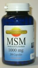 MSM (Methylsulfonylmethane) 1000mg  200 Capsules   Joint Health