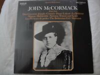 JOHN MCCORMACK IMMORTAL PERFORMANCES ARIAS VINYL LP ALBUM 1969 RCA VICTROLA VG+