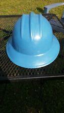 Vintage Bullard Hard Boiled Plastic Hard Hat Blue
