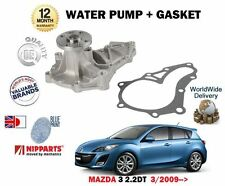 Para Mazda 3 2.2DT 2.2 TD R2AA 3/2009 -- > NUEVO Bomba de aguas de refrigeración + Kit de la Junta