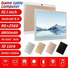 "10.1"" inch WIFI HD 10 Core Tablet Android 9.0 Pad 8+512GB SIM GPS Dual Camera US"